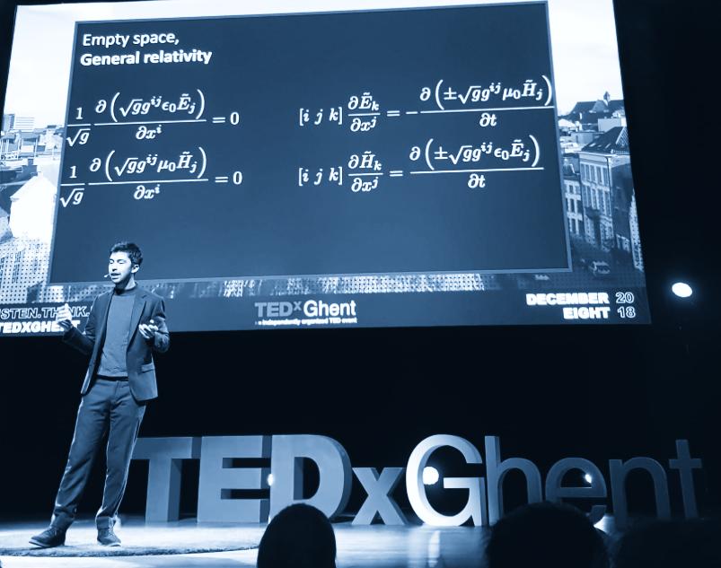 TEDxGhent  – Listen, Think, Digest
