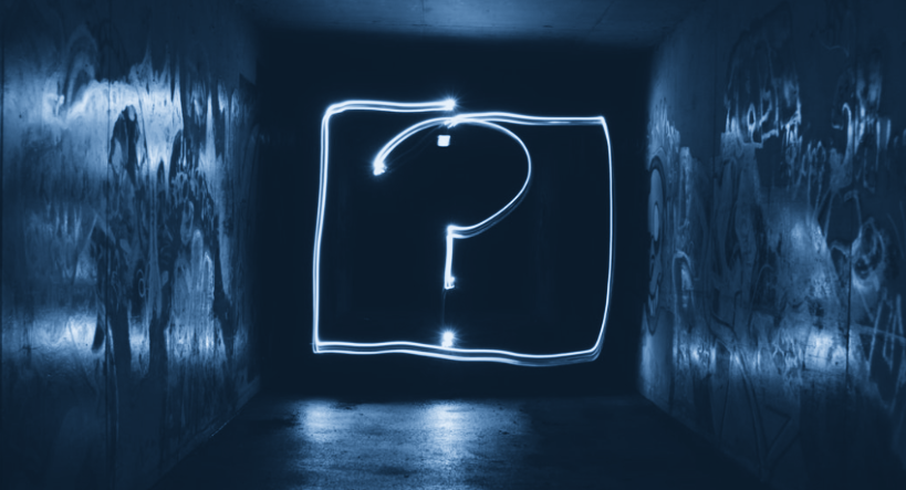 The importance of the question mark
